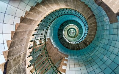 How to Ground Yourself when You're Experiencing a Spiral of Change vs Spiraling Out of Control